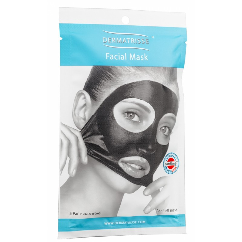 Dermatrisse Facial Peel Off Mask - 5x10 ml