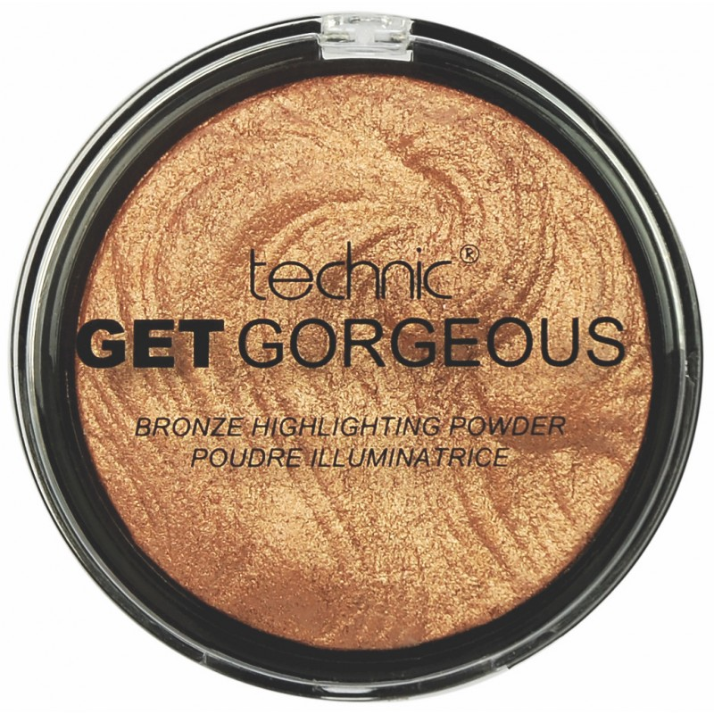 Technic Get Gorgeous Bronze Highlighting Powder 24CT Gold