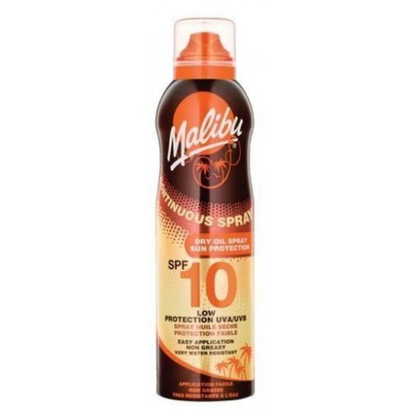 Malibu Continuous Dry Oil Spray SPF10