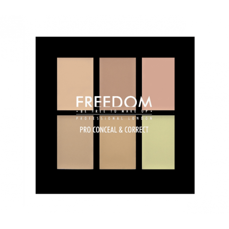 Freedom Makeup Pro Conceal & Correct Palette Color Correct Light