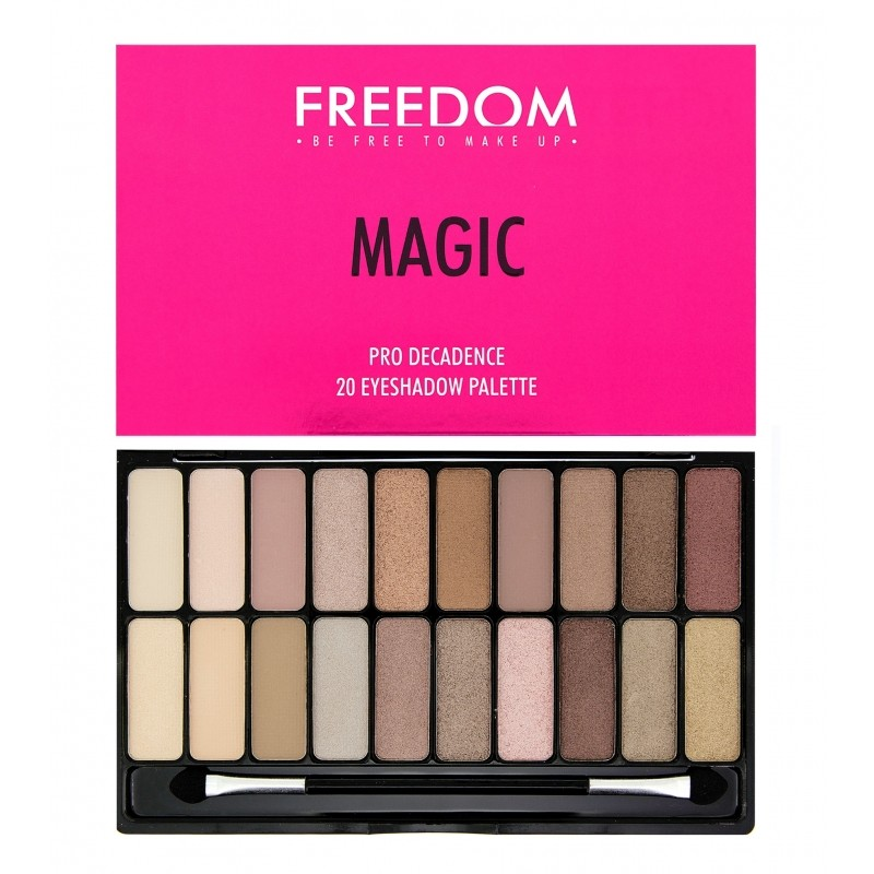 Freedom Makeup Pro Decadence Eyeshadow Palette Magic