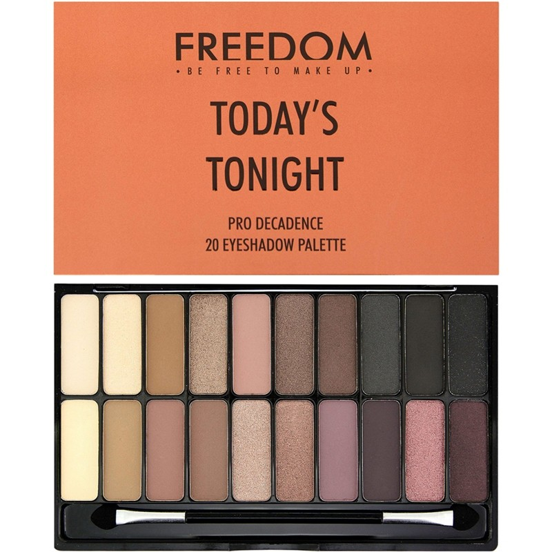 Freedom Makeup Pro Decadence Eyeshadow Palette Today's Tonight