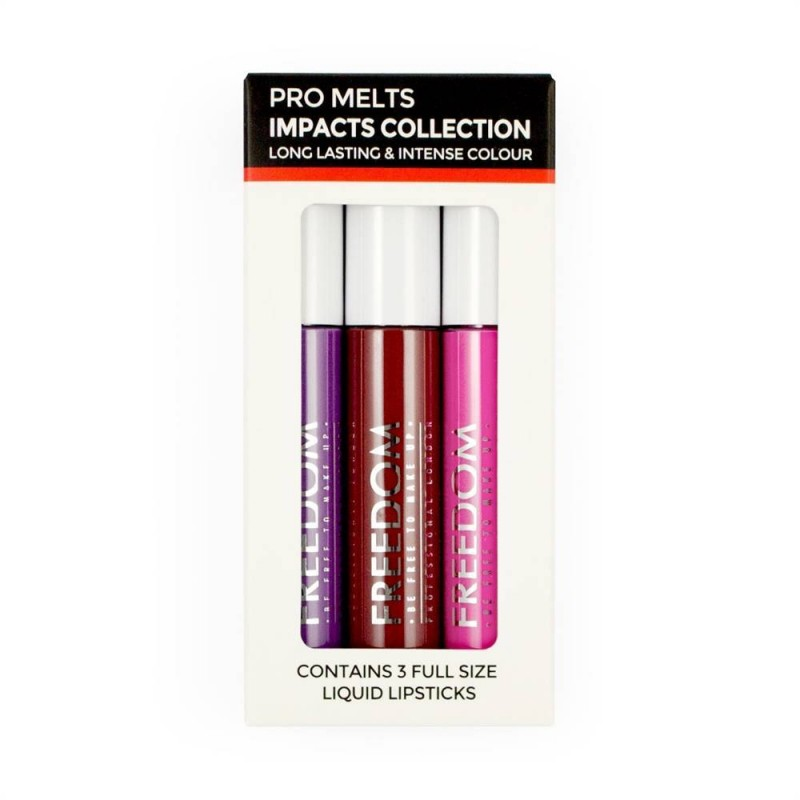 Freedom Makeup Pro Melts Impacts Lipgloss Collection