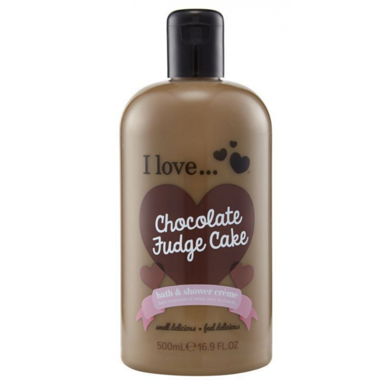 I Love Cosmetics Bath & Shower Creme Chocolate Fudge Cake
