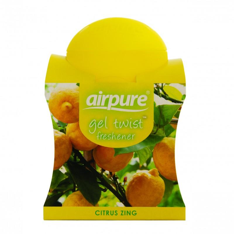 Airpure Gel Twist Freshener Citrus Zing