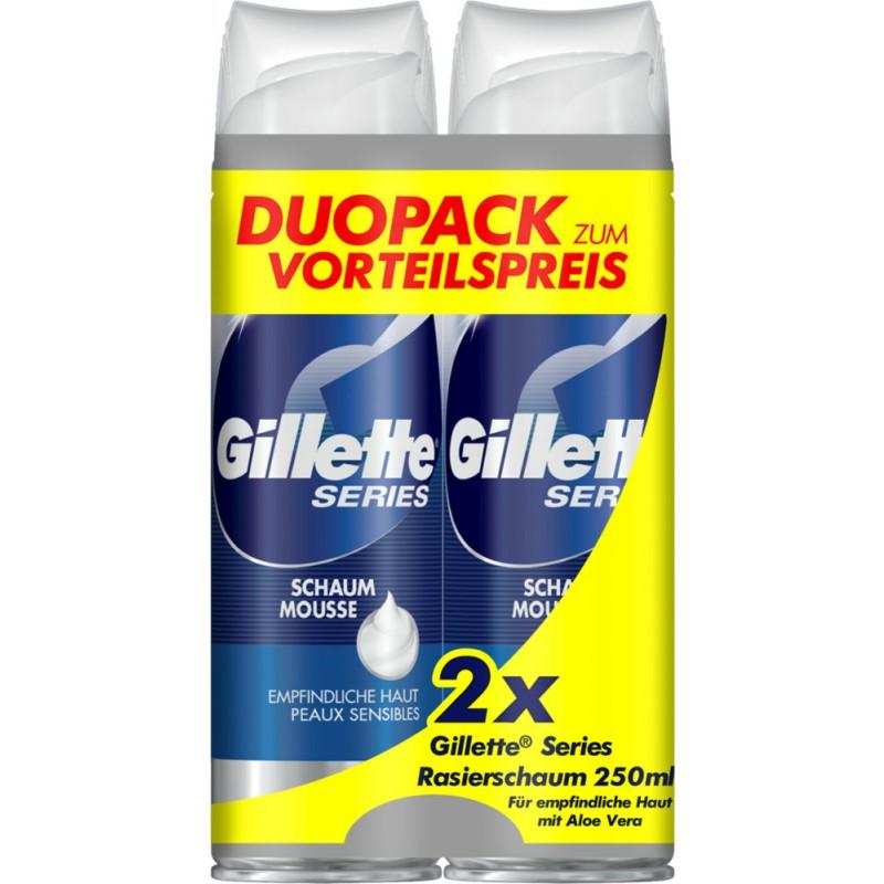 Gillette Series Foam Mousse Sensitive