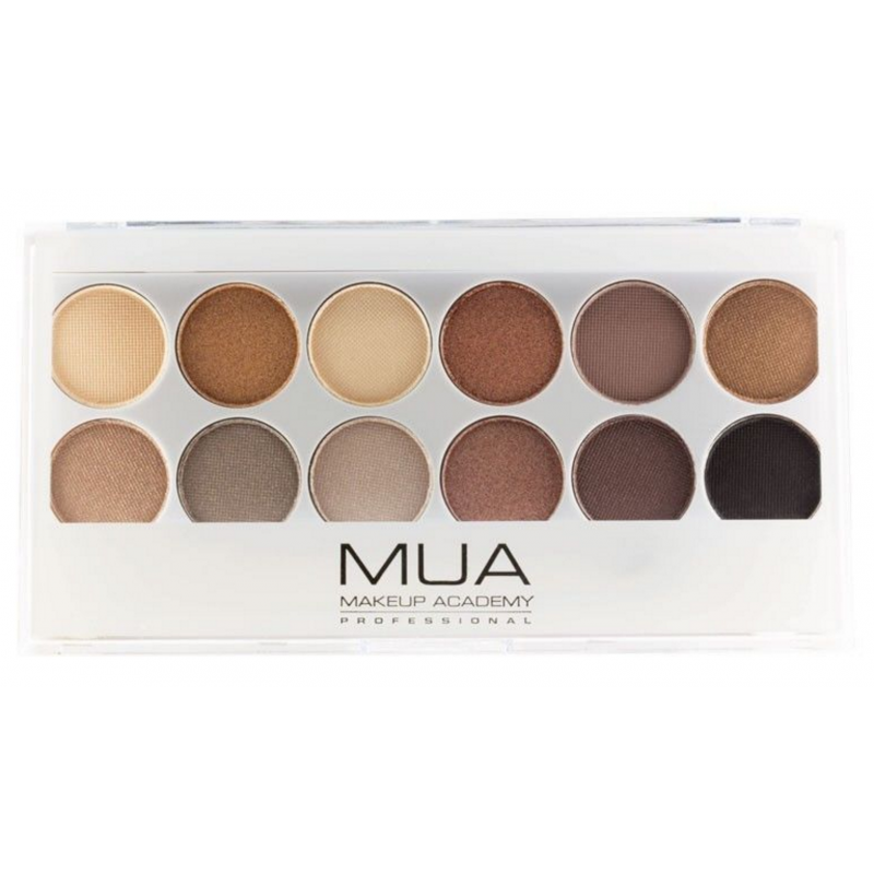 MUA Makeup Academy Eyeshadow Palette Undress Me Too