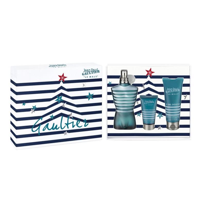 Jean Paul Gaultier Le Male EDT & Showergel & Aftershave Balm