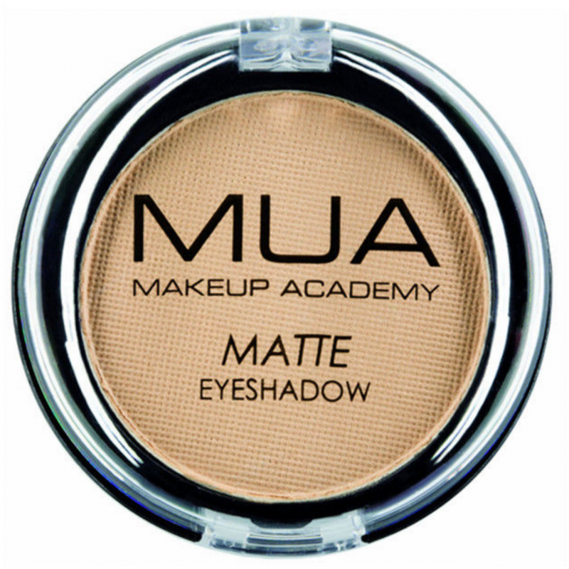 MUA Makeup Academy Matte Eyeshadow Fudge