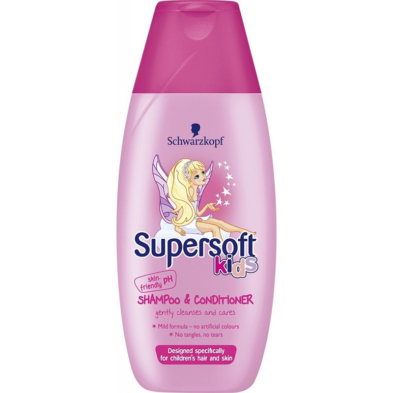 Schwarzkopf Supersoft Kids Shampoo & Conditioner