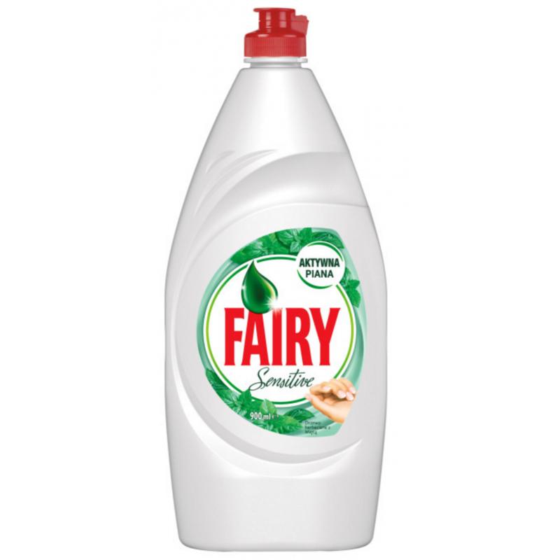 Fairy Sensitive Tea Tree & Mint Dishwashing Liquid