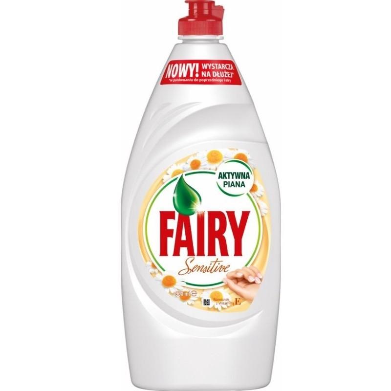 Fairy Sensitive Chamomile and Vitamin E Dishwashing Liquid