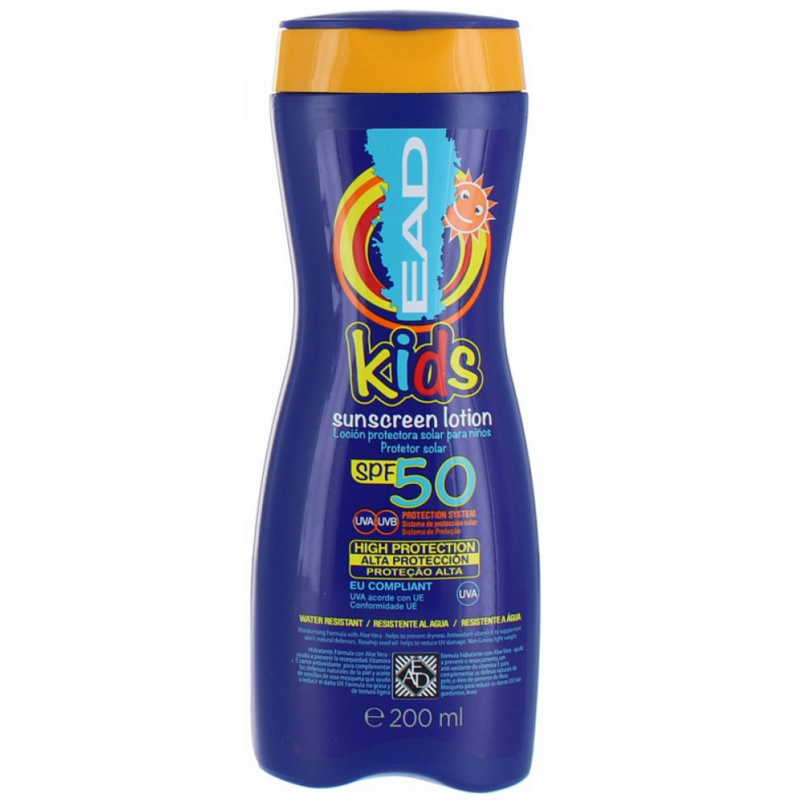 EAD Kids Sunscreen Lotion SPF50