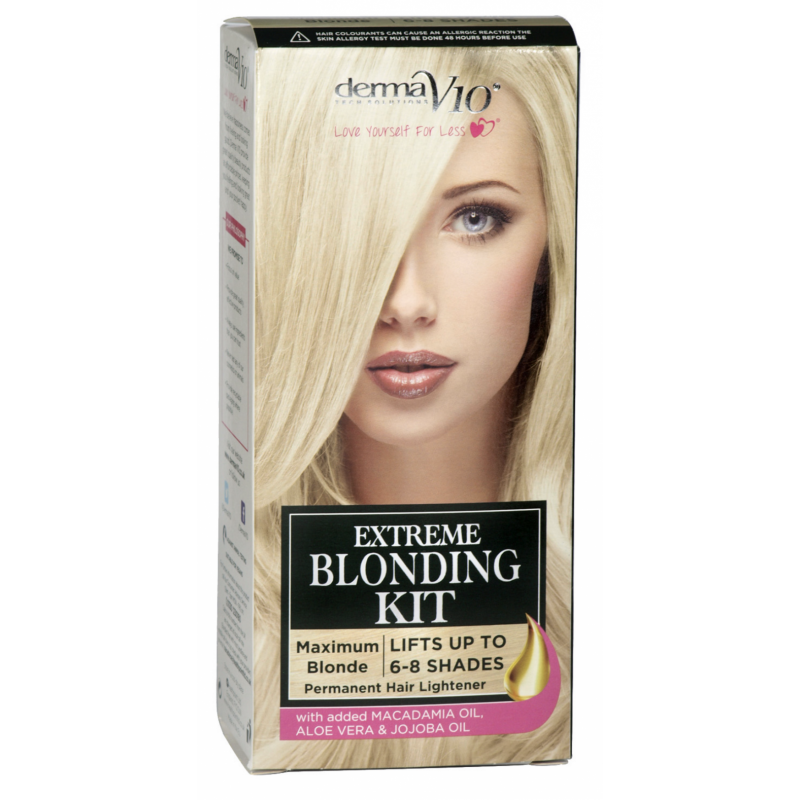 DermaV10 Extreme Blonding Kit Maximum Blonde