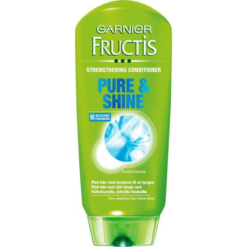 Garnier Fructis Spülung Pure & Shine