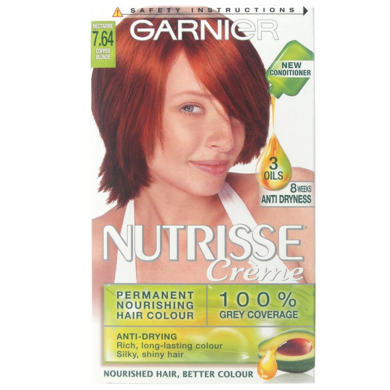 Garnier Nutrisse Creme 7.64 Red Copper