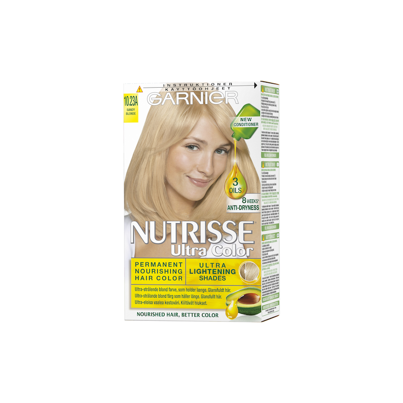 Garnier Nutrisse Ultra Color 10.23A Sandy Blonde