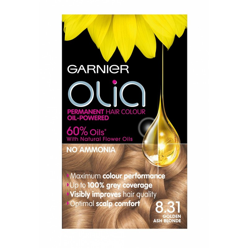 Garnier Olia 8.31 Golden Ash Blonde