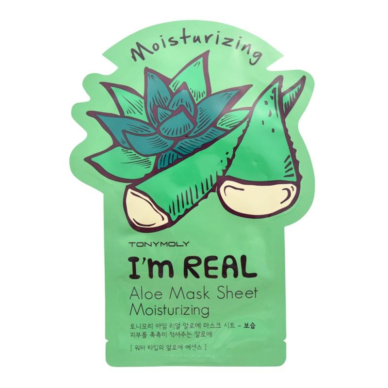 TonyMoly I'm Real Aloe Sheet Mask Moisturizing