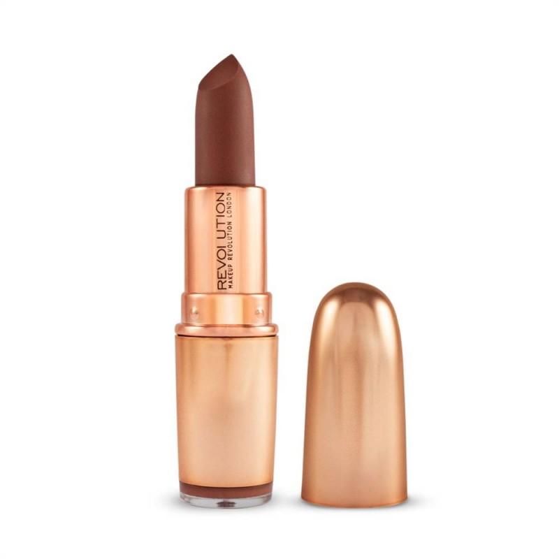 Revolution Makeup Iconic Matte Nude Lipstick Inclination