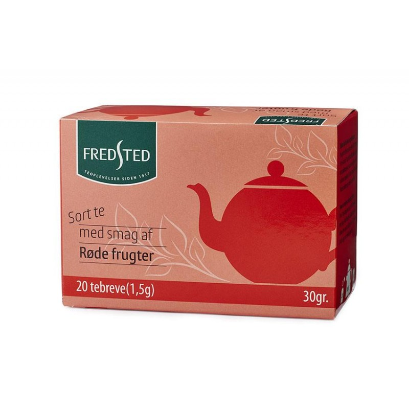 Fredsted Black Tea With Red Fruits