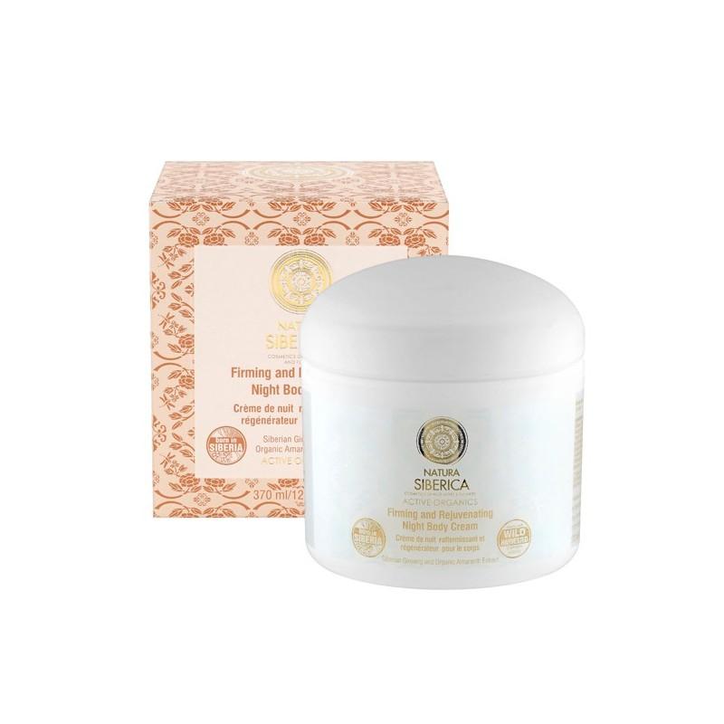Natura Siberica Firming & Rejuvenating Night Body Cream