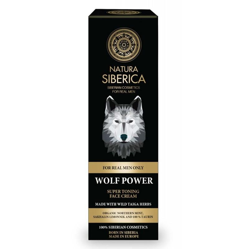 Natura Siberica Men Wolf Power Super Tonic Face Cream