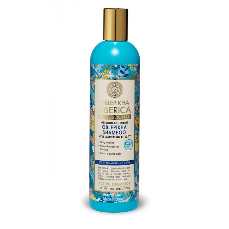 Natura Siberica Oblepikha Nutrition & Repair Shampoo