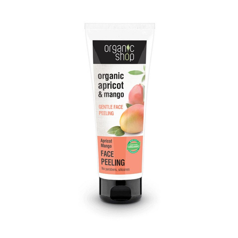 Organic Shop Organic Apricot & Mango Gentle Face Peeling