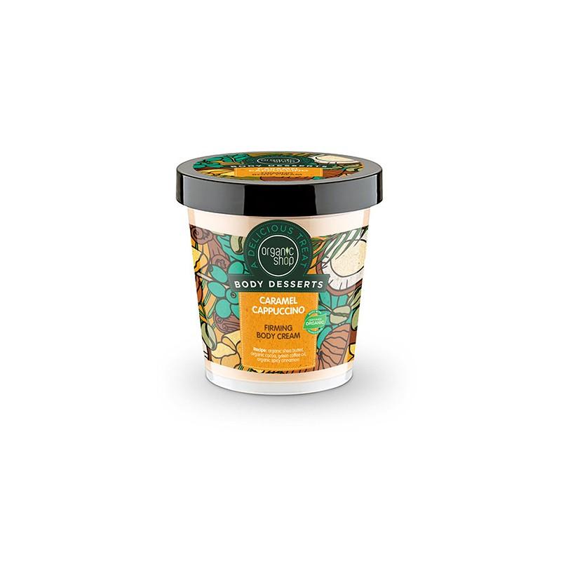 Organic Shop Firming Body Cream Caramel Cappuccino