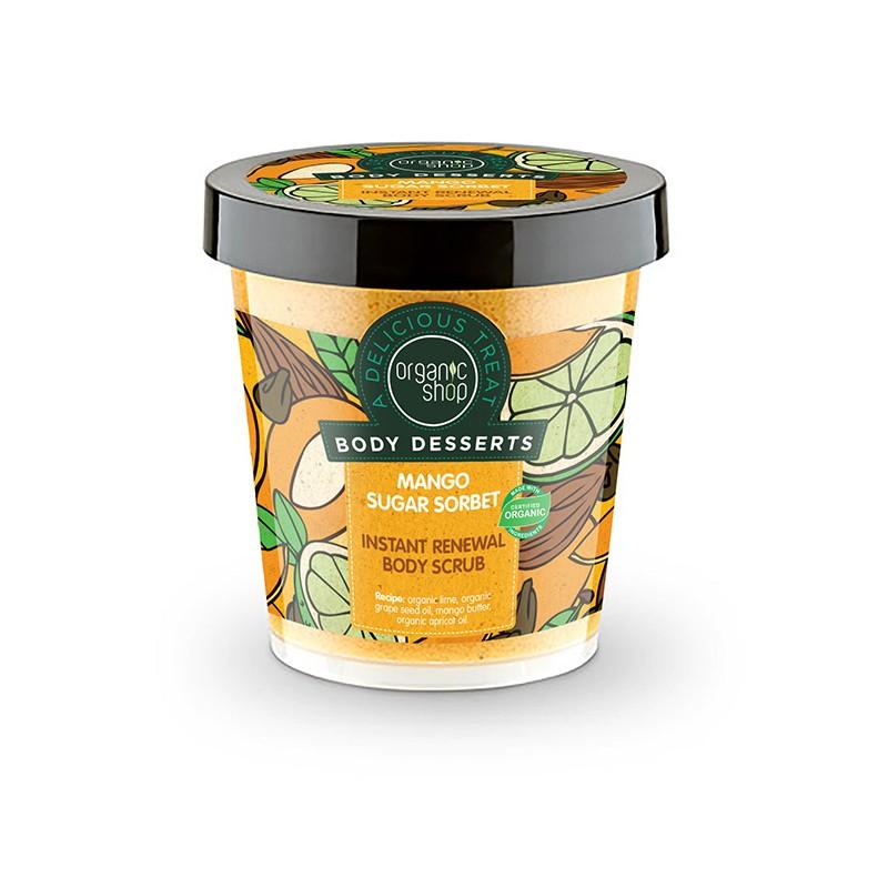 Organic Shop Instant Renewal Body Scrub Mango Sugar Sorbet