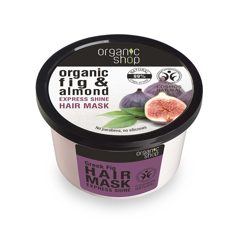 Organic Shop Organic Fig & Almond Express Shine Hair Mask