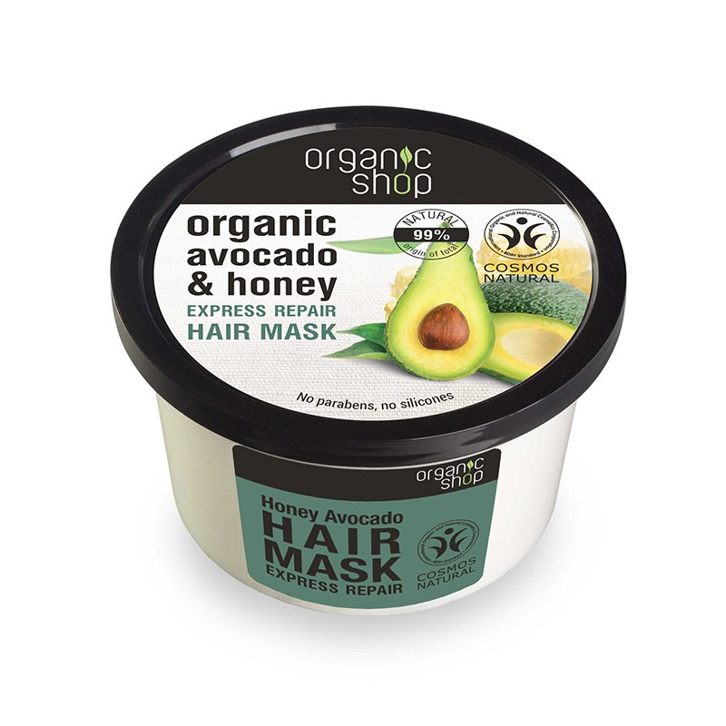 Organic Shop Organic Avocado & Honey Express Repair Hair Mask