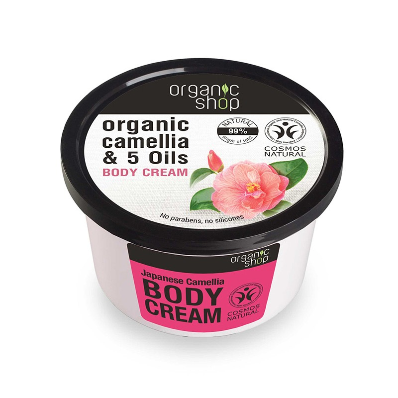Organic Shop Organic Camellia & 5 Oils Body Cream