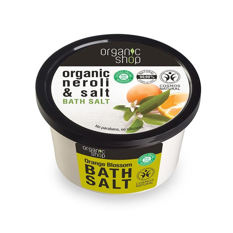 Organic Shop Organic Neroli & Salt Bath Salt