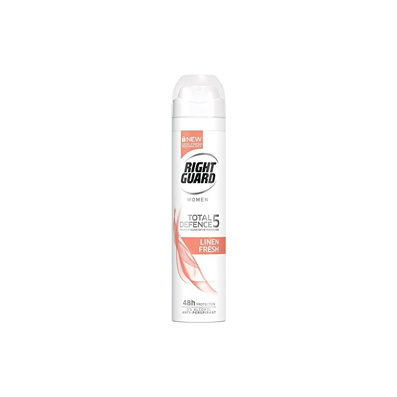 Right Guard Total Defence 5 Linen Fresh Deospray