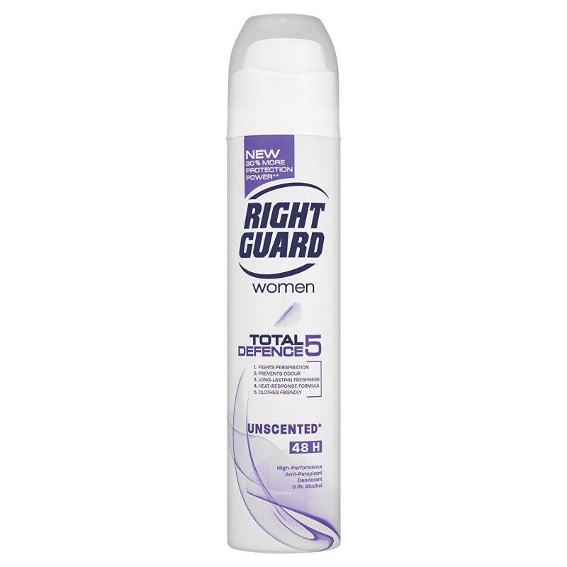 Right Guard Total Defence 5 Sport Deospray