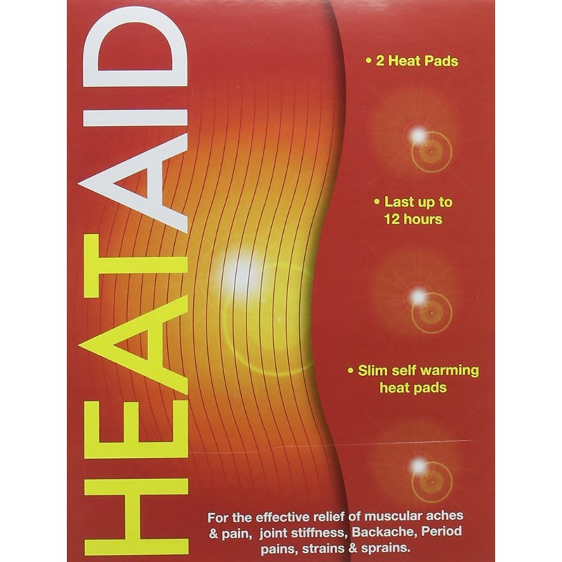 Healthpoint  Heat Aid Self Warming Heat Pads