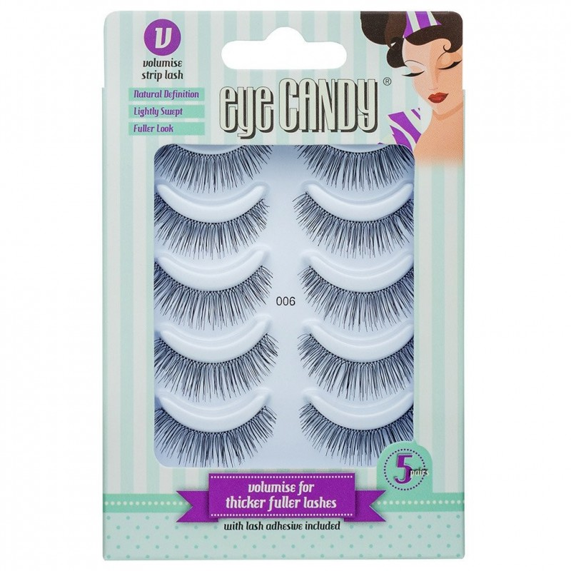 Eye Candy 50's Style False Lashes 006