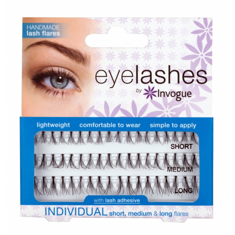 Invogue Individual False Lashes Combo