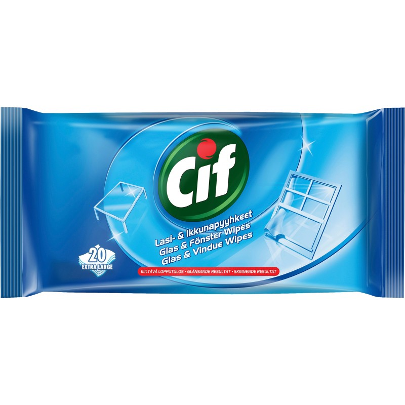 Cif Glas & Vindue Wipes