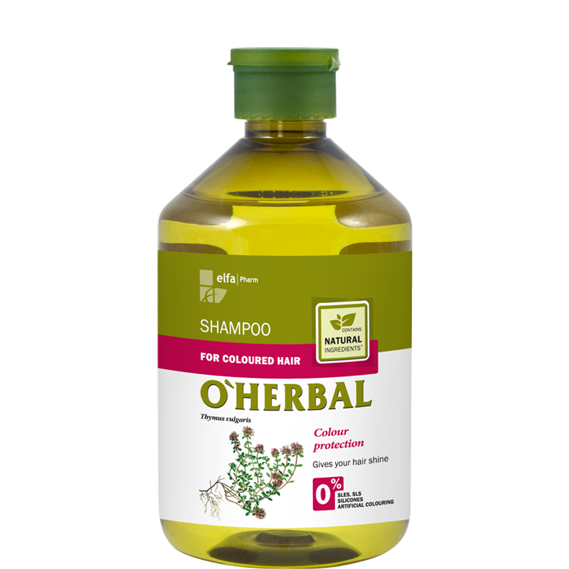 O'Herbal Coloured Hair Thyme Extract Shampoo