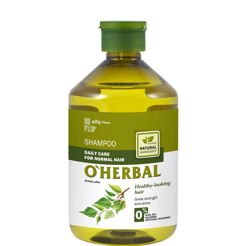 O'Herbal Daily Care Normal Hair Birch Extract Shampoo