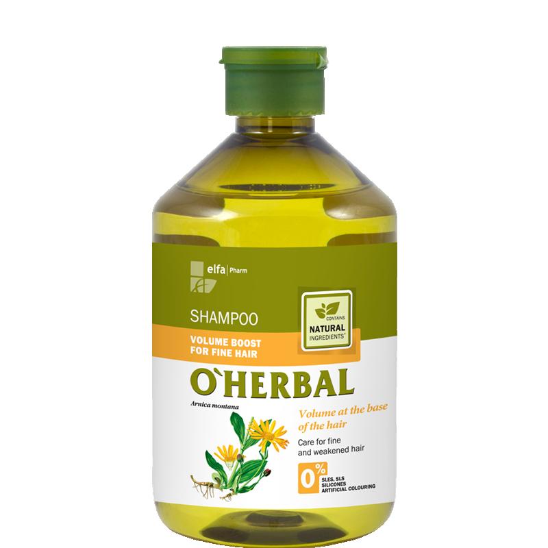 O'Herbal Volume Boost Fine Hair Arnica Extract Shampoo