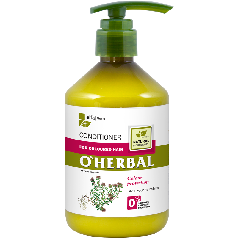 O'Herbal Coloured Hair Thyme Extract Conditioner