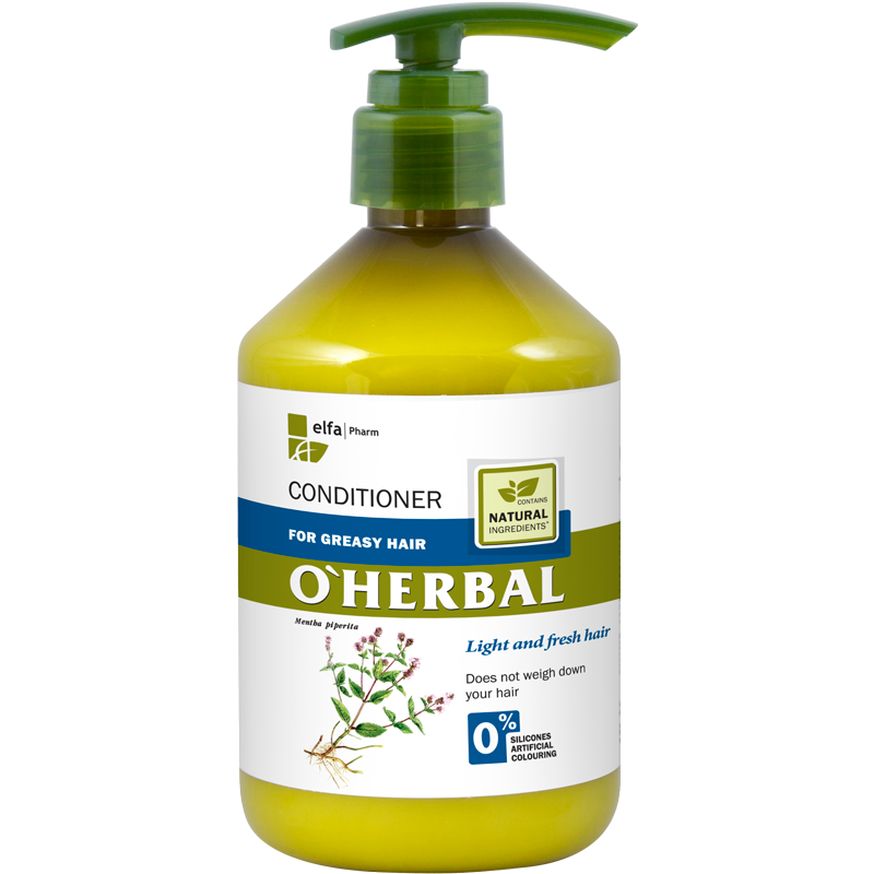 O'Herbal Greasy Hair Mint Extract Conditioner
