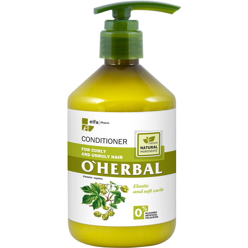 O'Herbal Curly & Unruly Hops Extract Conditioner