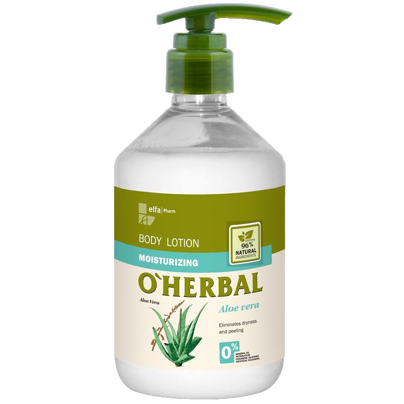 O'Herbal Moisturizing Body Lotion Aloe Vera Extract