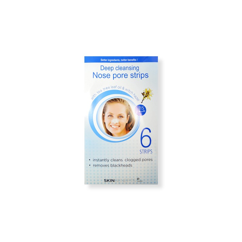 Skin Benefits Deep Cleansing Nose Pore Strips
