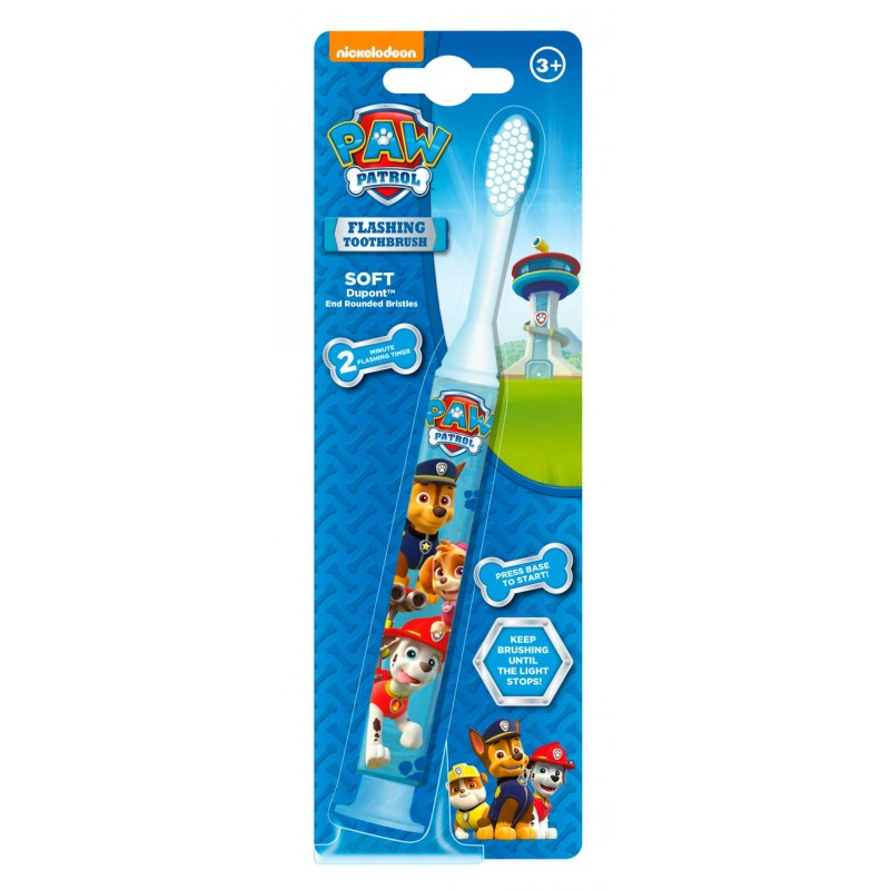 Nickelodeon Paw Patrol Flashing Toothbrush Soft